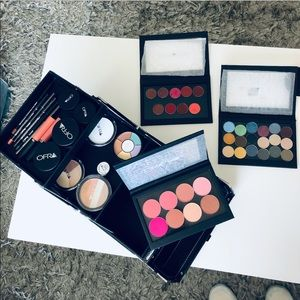 OFRA Pro Cosmetics case with NEW Makeup